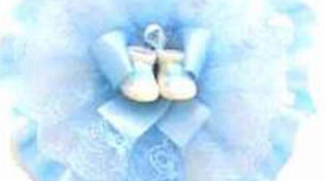fiocco azzurro