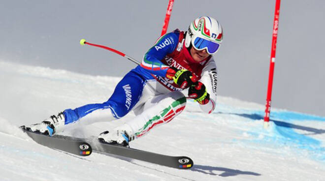 Italian skier Daniela Merighetti races i