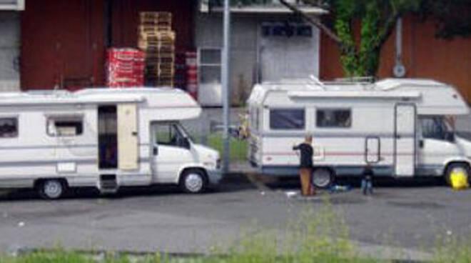 campo nomadi sinti