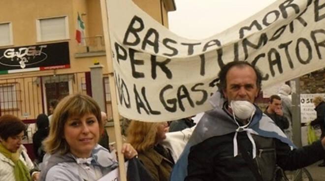 gassificatore protesta