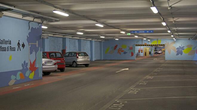 parcheggio fossa bagni