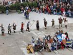 rievocazione castello di Brescia