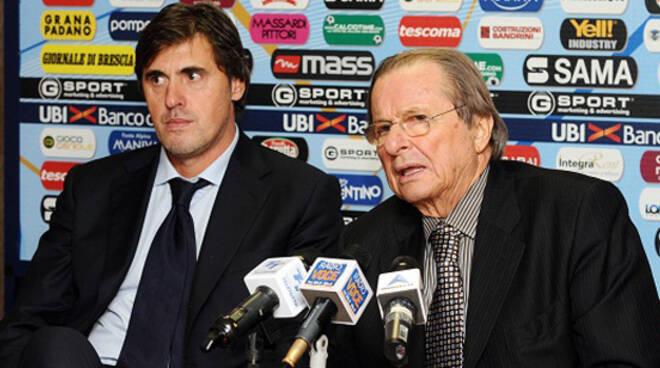 Alessandro Calori con Gino Corioni