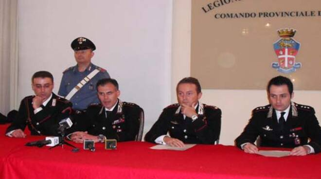 confe carabinieri colonnello turchi