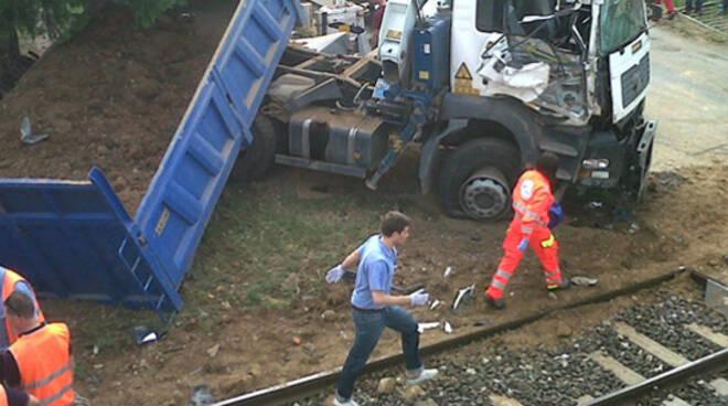 incidente ferroviario Corte Franca