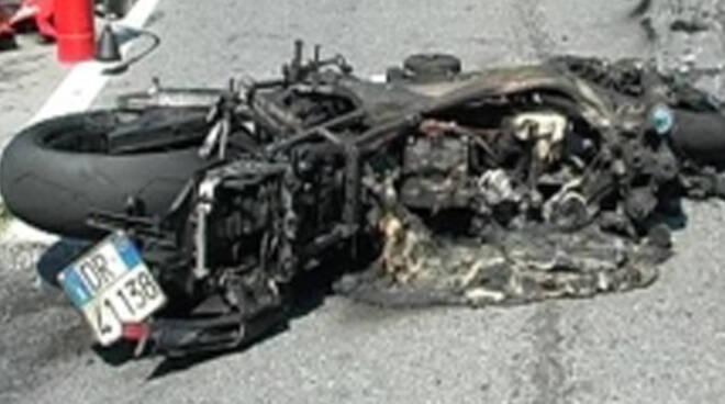 incidente moto sonico