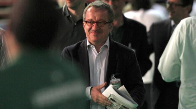 segretario della Lega Nord Bobo Maroni
