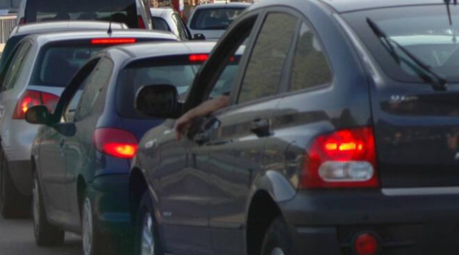 traffico congestionato