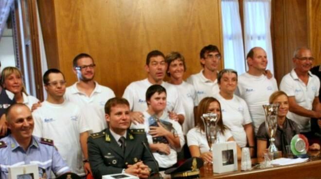 FOTO La premiazione del IV Campionato Provinciale per velisti diversamente abili Svelare senza barriere 2011