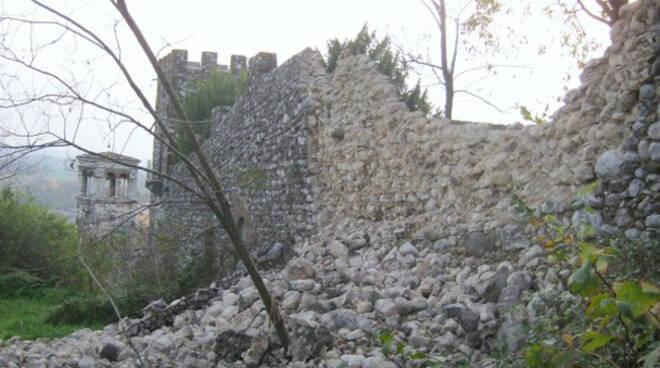lonato crollo mura1