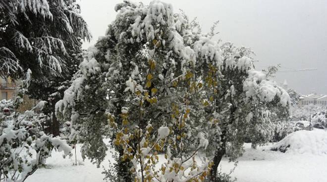 neve dicembre brescia