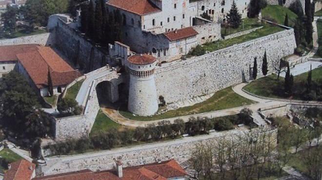 Castello cidneo dall'alto