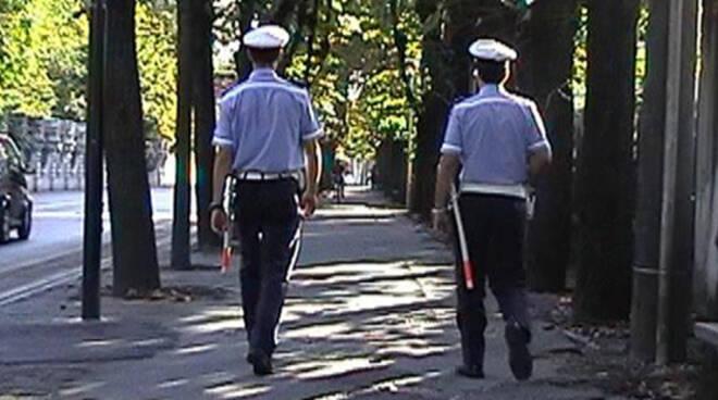 PoliziaLocale a piedi