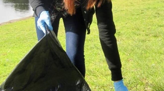 pulizia parco