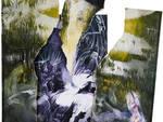 Volto, Acrilico su carta, 37x24 cm 2013