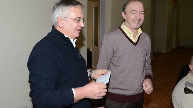 Giorgio Cotelli (Caritas) ed Enzo Torri (Cisl)