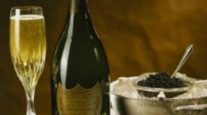 caviale champagne