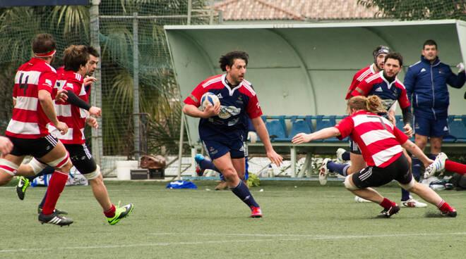 rugby Lumezzane contro Milano