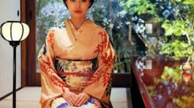 donna kimono giappone
