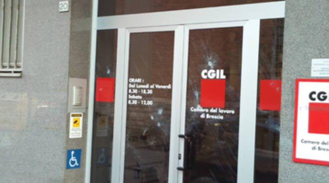 vandali Cgil