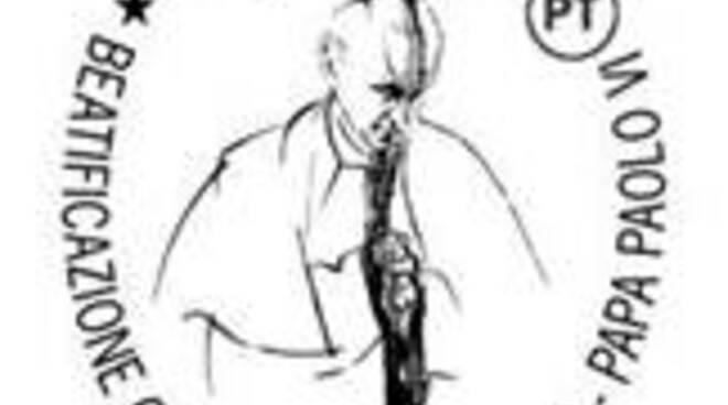annullo filatelico Papa Montini