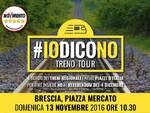 #IoDicoNo @BRESCIA 13-11-2016 - Locandina