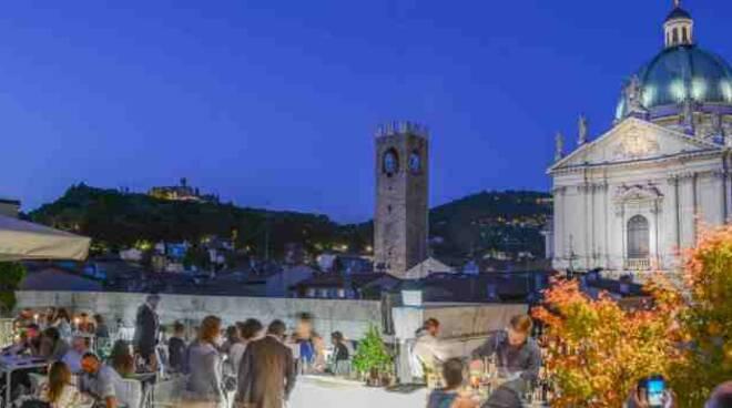Brescia Premiato Bar Terrazza Dell Hotel Vittoria Quibrescia