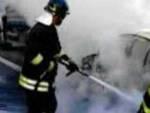 brescia-tangenziale-sud-auto-fiamme
