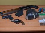 Armi-droga-casa-arresto