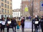 Protesta-insegnanti-ministro-fedeli-brescia