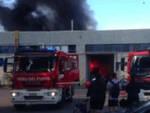 Enercon-fabbrica-inagibile-ospitaletto-incendio
