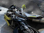 Moto-incidente-auto-cortefranca