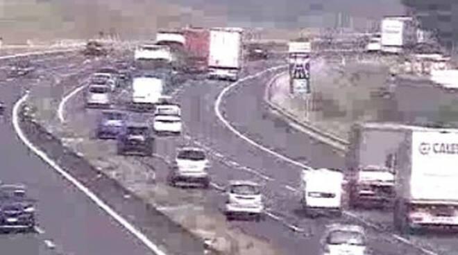 Incidente-A4-camion-ponte-oglio-rovato
