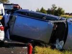 Roccafranca-frontale-auto-feriti