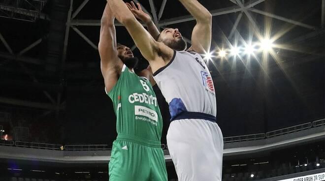 Basket Brescia Ljubljana