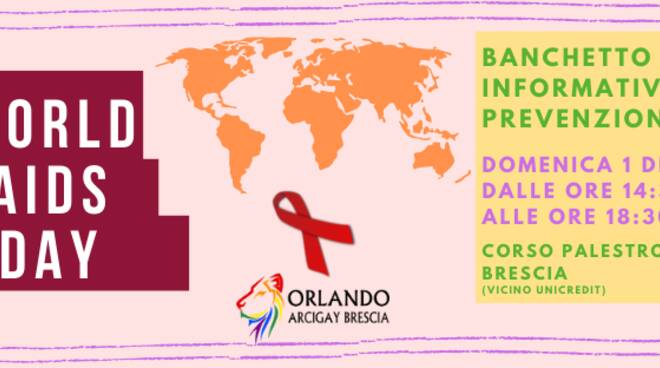 Giornata mondiale sensibilizzazione all'Hiv