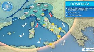 meteo domenica 1 dicembre
