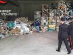 soiano mantova tonnellate rifiuti speciali arresti