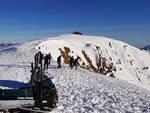 bagolino scivolano neve andando dasdana
