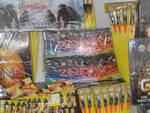 brescia trasporta troppi fuochi artificio denunciato