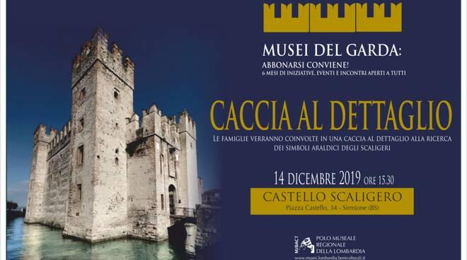 Caccia al dettaglio al Castello Scaligero