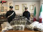 marmentino nasconde 72 chili droga cascina arrestato