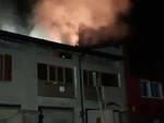 preseglie scoppia incendio tetto casa inagibile