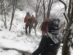 toscolano recuperati escursionisti dispersi