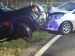 trento bresciani contro auto cc guida ubriaco senza patente