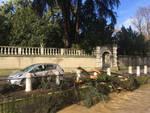 verolanuova auto colpita ramo caduto albero