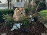 a21 stele ricorda vittime tragico incidente 2018