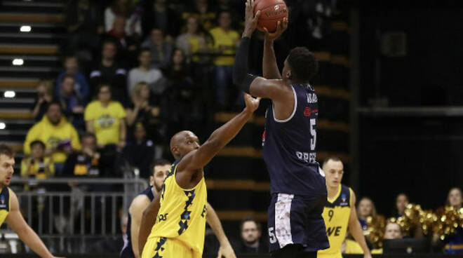 Basket Eurocup Brescia sfiora rimonta Oldenburg