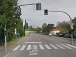 Brescia investito via Flero attraversa grave