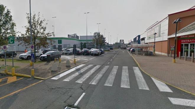 Brescia malore volante auto Campo Grande